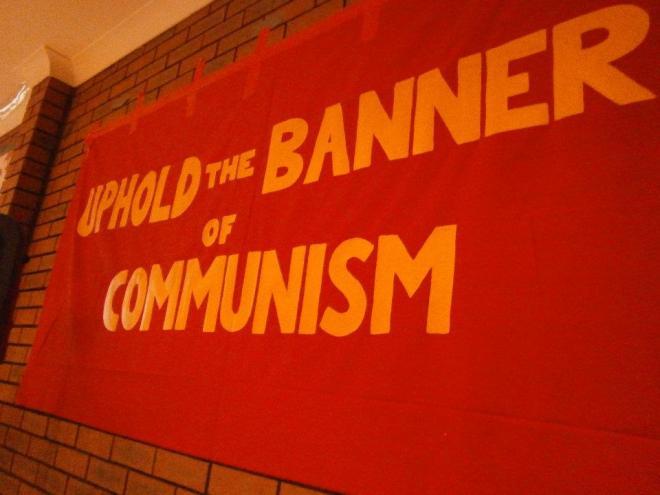 uphold banner of communism