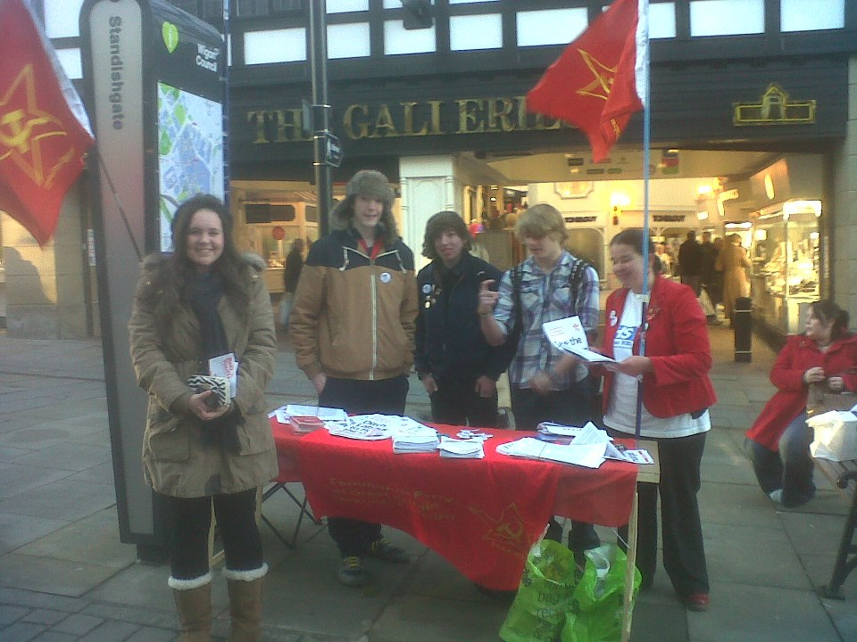Red Youth out in Lancashire