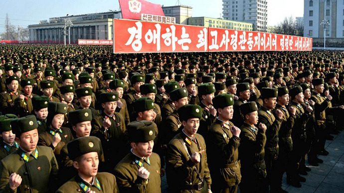 DPRK protest