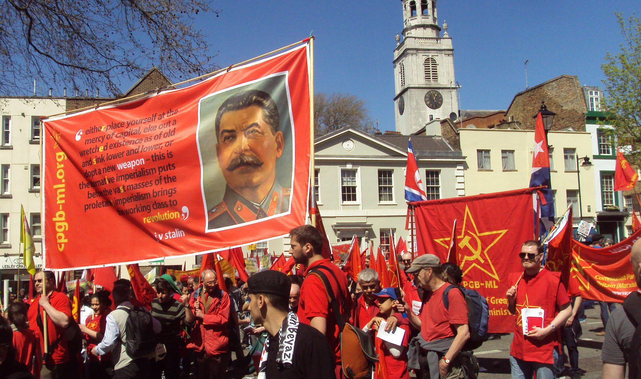 Image result for CPGB-ML MAY DAY PHOTO
