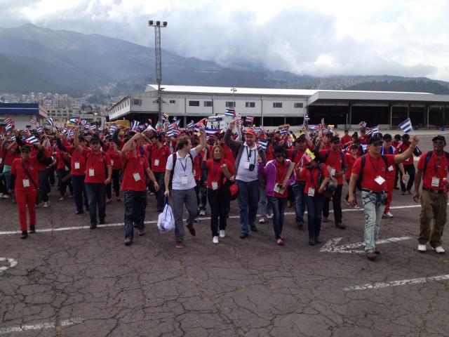 Communist Party of Cuba arrive