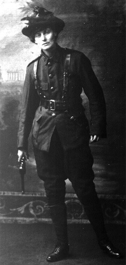 Markiewicz in uniform