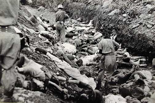 US and ROK Massacres - 4.7 million killed during 'Korean War' 1950-53