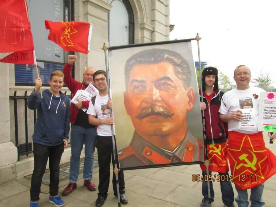 Communists celebrate Manchester May Day