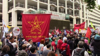 CPGB-ML on march
