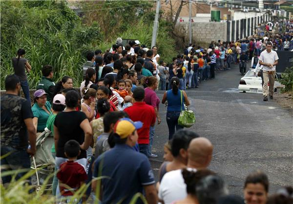 venezuela-food-line
