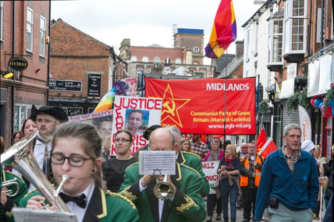 Wigan Diggers Festival March