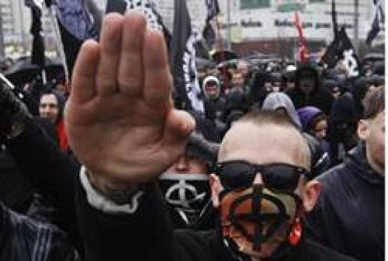 fascists in ukraine street - salute.jpg