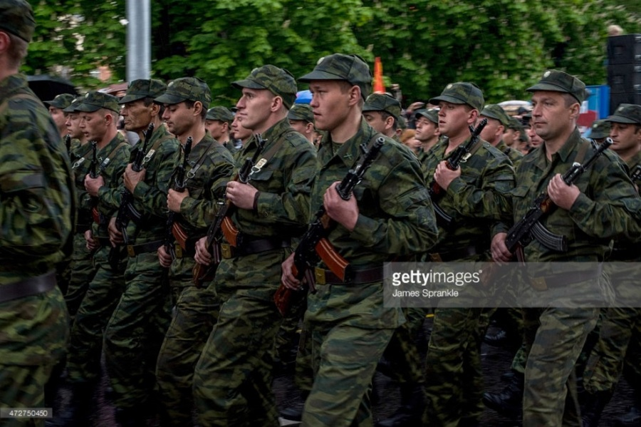 troops parade - May 9 2015 Donetsk 70 VE Day copy.jpg