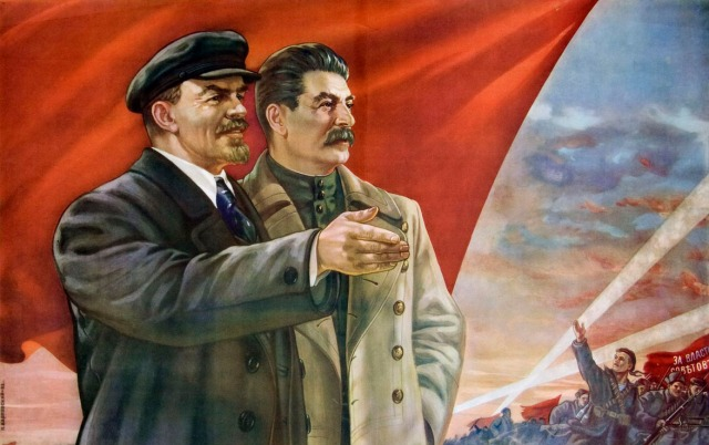 Lenin and Stalin