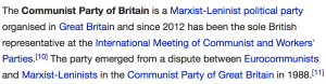 The CPB still portays itself as a Marxist-Leninist party
