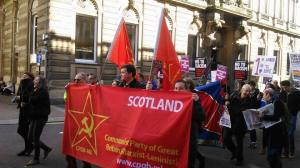 Glasgow Refugee demo