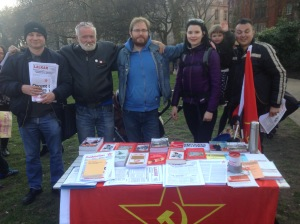 CPGB-ML on the Kill the Housing Bill demonstration