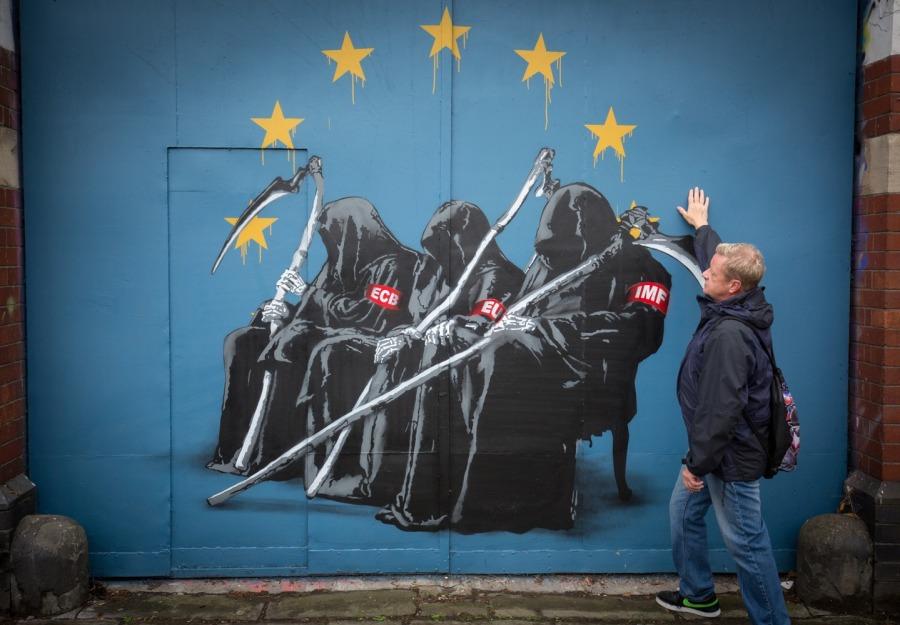 bristol EU grim reaper street art