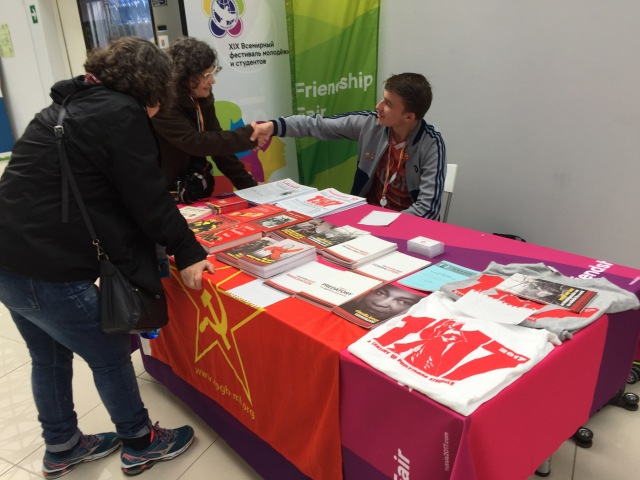Red Youth stall